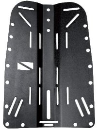Backplate 3 mm (hliník) black