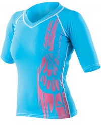 Rash Guard Woman Blue