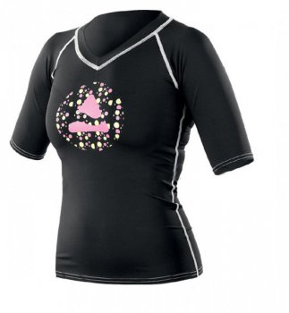 Rash Guard Woman Black Retro DO VYPRODÁNÍ ZÁSOB